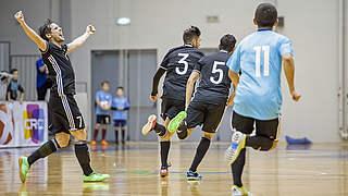 3:3 nach 0:3: Futsal-Team zeigt tolle Moral