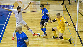 Futsal-Nationalteam feiert ersten Pflichtspielsieg