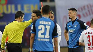 Zwei Spiele Sperre und 10.000 Euro Geldstrafe für Hoffenheims Wagner