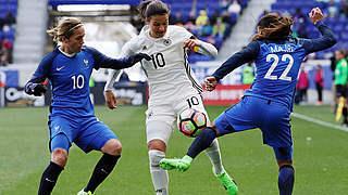 0:0 gegen Frankreich: DFB-Frauen belohnen sich nicht
