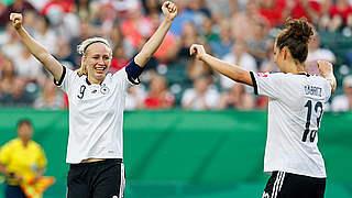 U 20-Frauen stehen im WM-Halbfinale