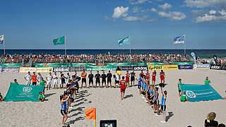 Deutsche Beachsoccer-Meisterschaft: Teilnehmerfeld ist komplett