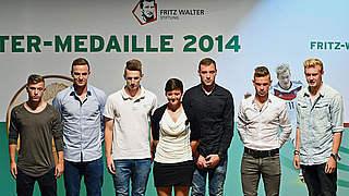 Fritz-Walter-Medaille: Glänzende Aussichten