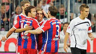 Götzes Doppelpack ebnet dem FC Bayern den Weg an die Spitze
