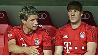 Neuer und Müller sind Lahms Vertreter