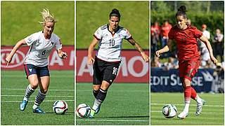Europas Fußballerin 2015: Sasic, Marozsan oder eine Französin?