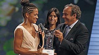 Sasic ist Europas Fußballerin des Jahres