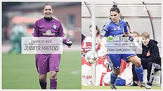 Martens  ist Spielerin des 6. Spieltags