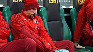 FC Bayern: Ribéry wieder verletzt