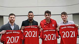 FC Bayern verlängert mit Müller, Boateng, Martinez und Alonso
