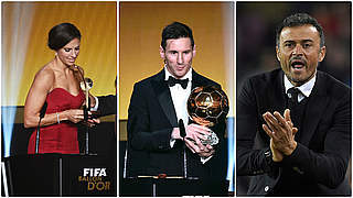 Ballon d'Or für Messi, Lloyd und Luis Enrique
