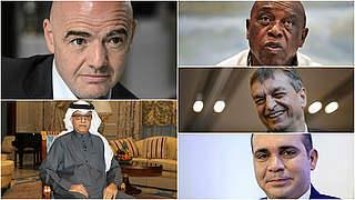 Wahl des FIFA-Präsidenten: DFB-Delegation beim Kongress in Zürich
