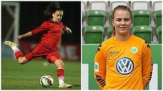 Joelle Wedemeyer und Merle Frohms verlängern in Wolfsburg