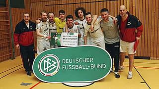 Futsal-Meisterschaft: FC Liria und Hamburg Panthers im Viertelfinale