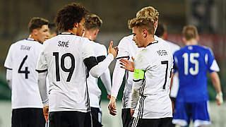 Sechster Sieg im sechsten Spiel: U 21 gewinnt 4:1 gegen Färöer