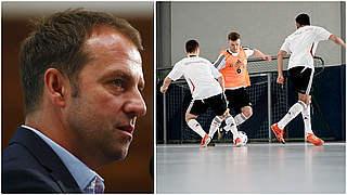 Flick: Futsal kann Grundlagen fördern
