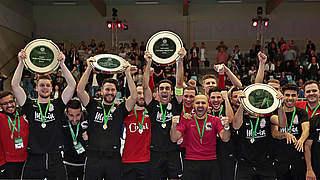 Hamburg Panthers sind Futsal-Meister