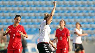 Dreifach-Torschützin Isabel Kerschowski ist Spielerin des Spiels
