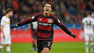 Leverkusens Star Chicharito zum Concacaf-Spieler des Jahres gewählt
