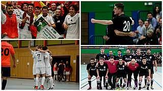 Hamburg Panthers und der FC Liria Berlin stehen im Futsal-Finale