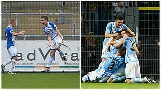 Hoffenheim und TSV 1860 auf Finalkurs