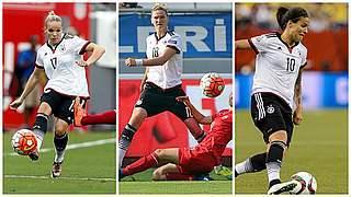Wer wird die Spielerin des Türkei-Spiels?