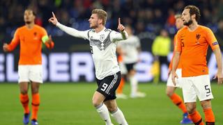 Deutschland trennt sich 2:2 von den Niederlanden
