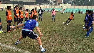 Indien-Reise der Studenten-Nationalmannschaft